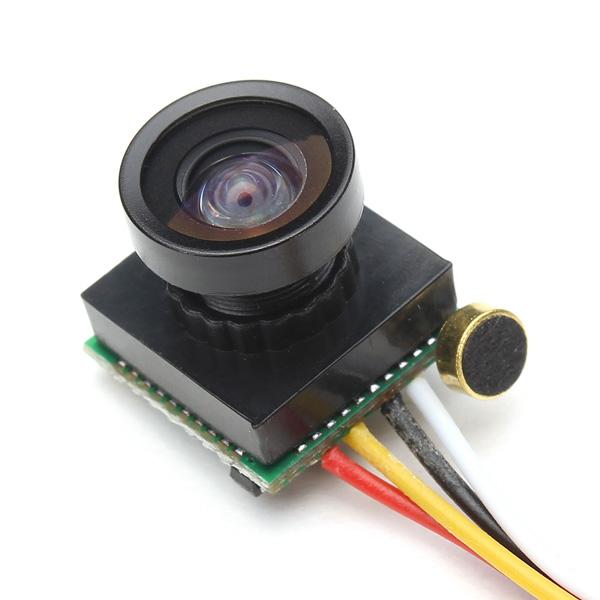 Camera FPV con microfono incorporato