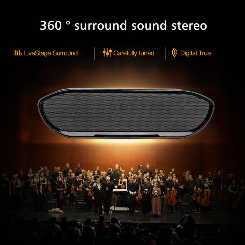 CY-01 Wireless Bluetooth Speaker 3D Stereo TF Card USB Play Outdoors Subwoofer for iPhone Xiaomi 37