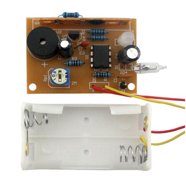 3Pcs DIY Touch Vibration Alarm Kit Electronic Training Teaching 18