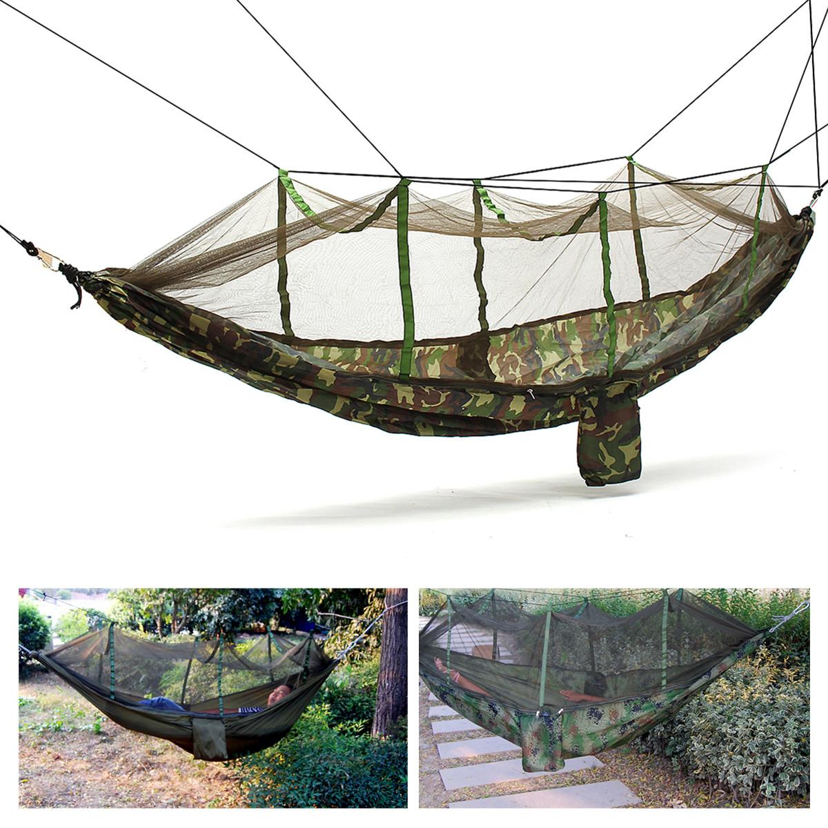 Ipree Outdoor Portable Camping Jungle Parachute Hammock
