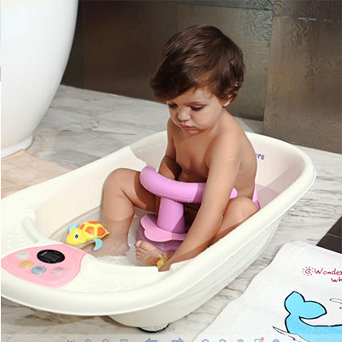 4 Colors Baby Bath Tub Ring Seat Infant Children Shower