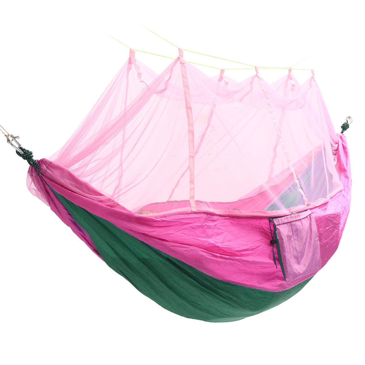 Portable Double Mosquito Net Hammock Swing Bed 2 Person