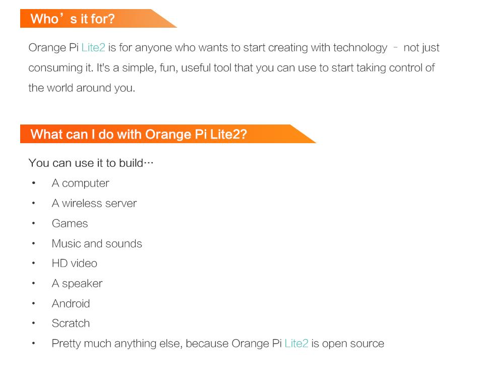 Orange Pi Lite2 H6 1GB USB3.0 Bluetooth4.1 Quad-core 64bit Development Board Support Android7.0 Mini PC 7