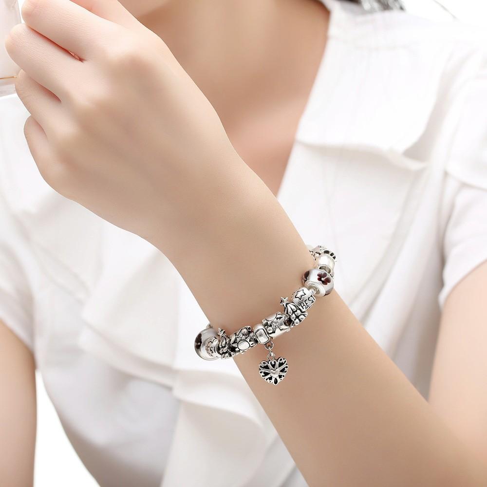 Glass Beads Bracelet