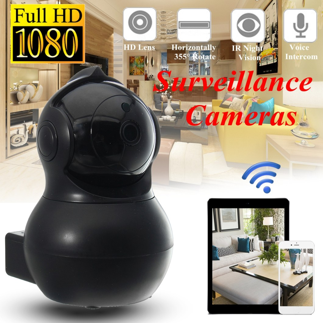 Q8 Home Security 1080P HD IP Camrea Wireless Smart WI-FI Audio CCTV Camera Webcam 13
