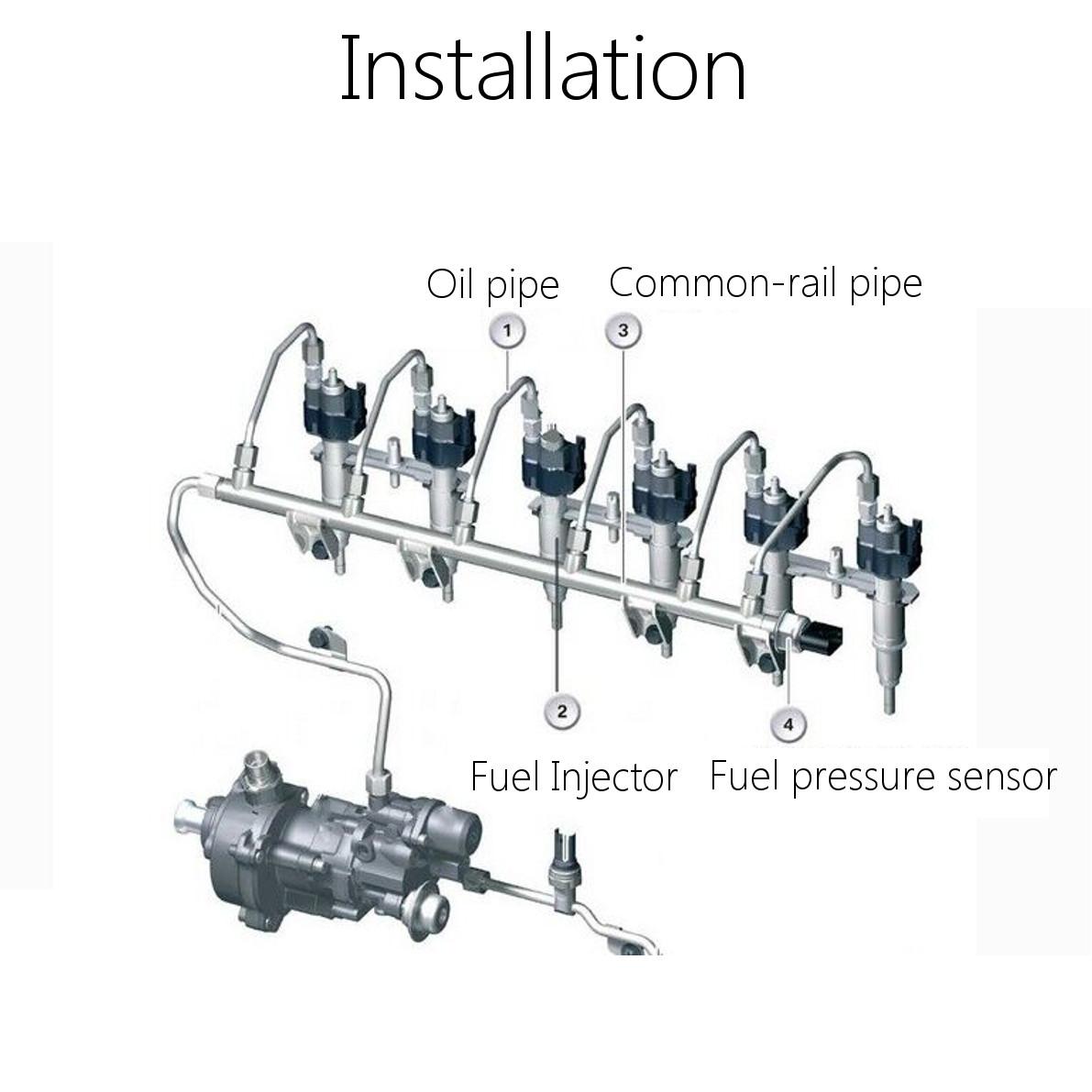 8 Fuel Injector For Holden Vt Vx Vu Vy Vz V8 5 7l Ls1 Gen 3 Commodore Calais Ss