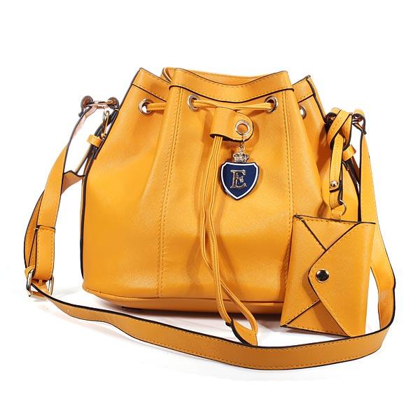 Korean Style Bucket String Bag Women Shoulder Crossbody Bag Handbag