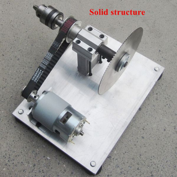 DIY Mini Bench Table Saw Handmade Woodworking Model Saw With Ruler ...