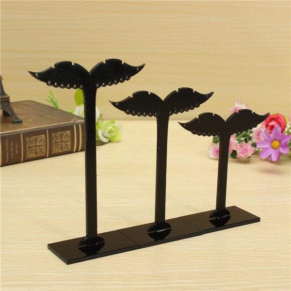 3pcs Acrylic Earring Jewelry Display Stand Holder Tree