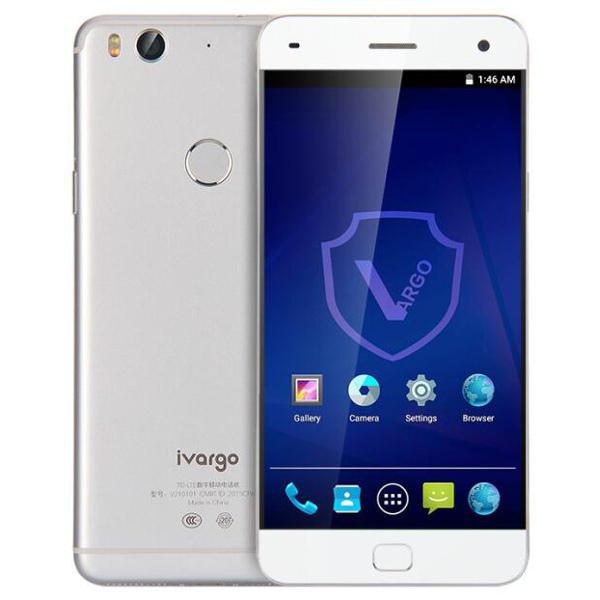 banggood VARGO IVARGO V210101 Snapdragon 615 MSM8939 1.7GHz 8コア SILVER(シルバー)