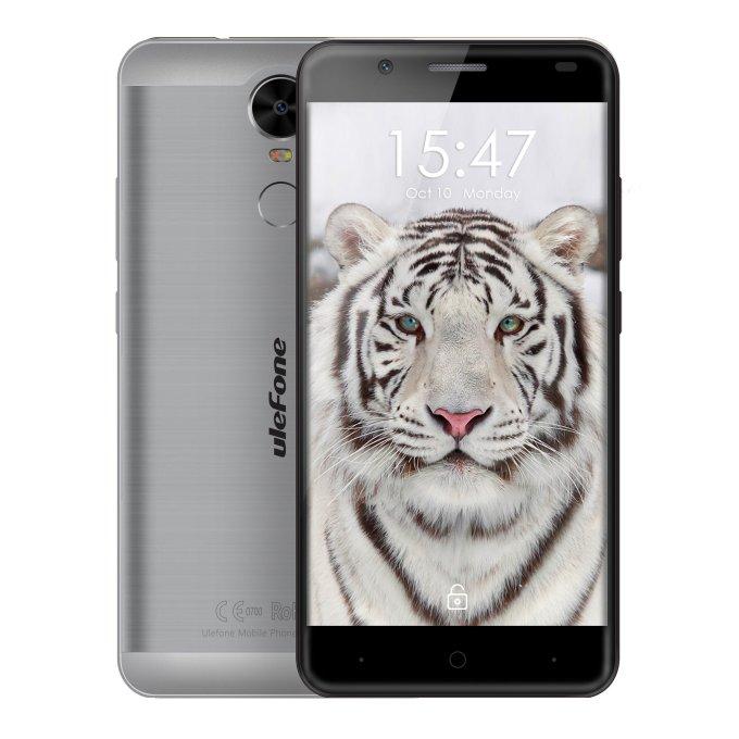banggood Ulefone Tiger MTK6737 1.3GHz 4コア GRAY(グレイ)