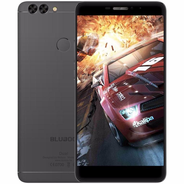 Bluboo Dual 5.5 inch Dual Camera 2GB RAM 16GB ROM MTK6737T Quad core 4G Smartphone