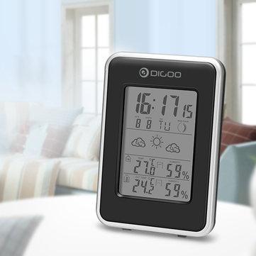 Mini stacja pogody za ~15zł, termometr z 3 czujnikami zewnętrznymi za ~60zł + inne stacje pogodowe - Banggood