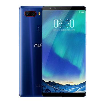 ZTE Nubia Z17S 5.73 inch 8GB RAM 128GB ROM Snapdragon 835 Octa core 4G Smartphone