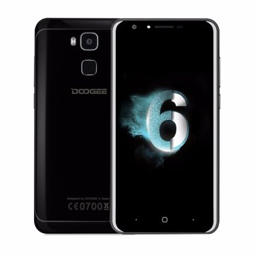 Doogee Y6 Piano Black MTK6750 1.5GHz 8コア