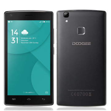 DOOGEE X5 Max Pro 5-inch Fingerprint 2GB RAM 16GB ROM MTK6737 Quad-core Smartphone
