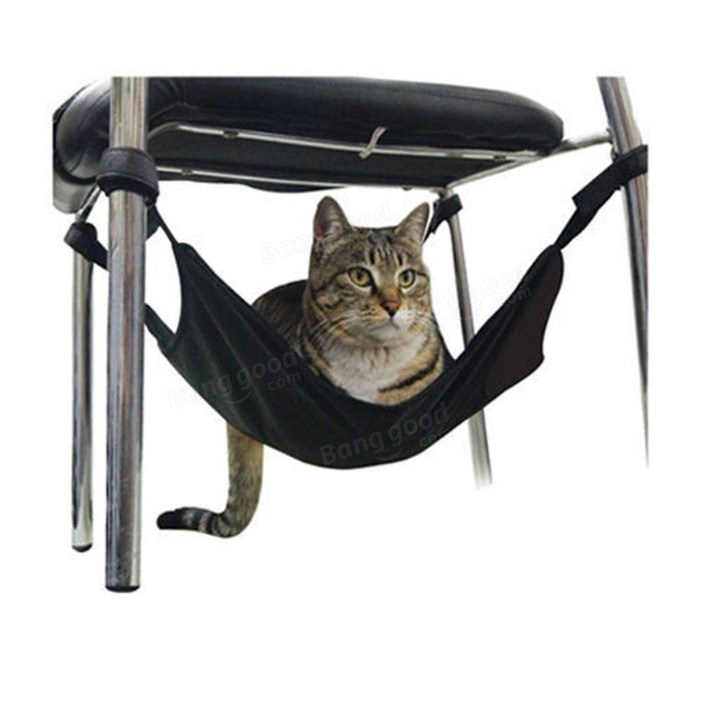 Adjustable Pet Cat Hanging Hammock Bed Pet Cat Kitty