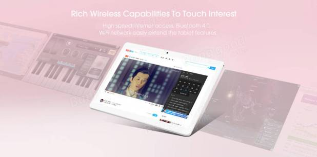 Teclast X10 Quad Core 16GB MT6580 1G 10.1 Inch Android 6.0 Dual 3G Phablet