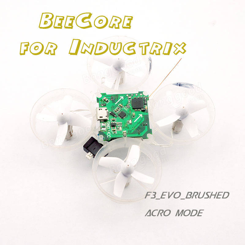 Eachine Beecore F3_EVO_Brushed ACRO Flight Control Board For Inductrix Tiny Whoop Eachine E010