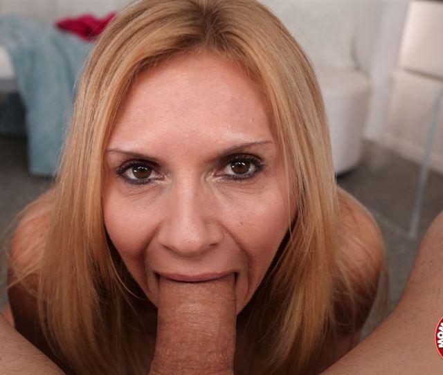 Brooke Tyler Hot Blonde Milf Sucks Some Big Cock Main Image