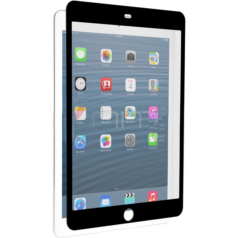 Znitro - Nitro Glass Screen Protector For Apple Ipad Air And Ipad Air 2 - Black, Clear