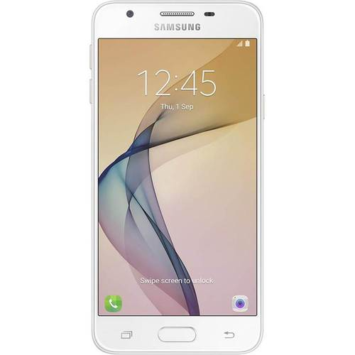 Samsung - Galaxy J5 Prime 4G LTE with 16GB Memory Cell Phone (Unlocked) - White