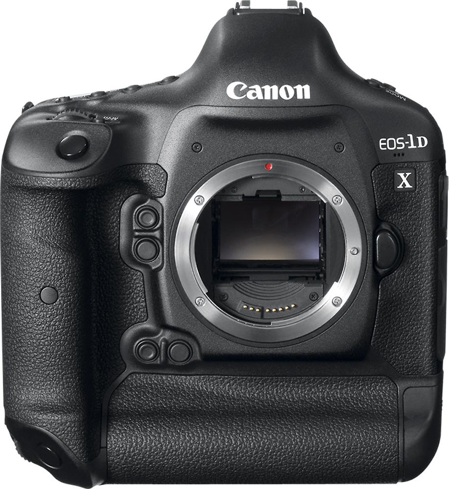 Canon - Eos-1d X Digital Slr Camera (body Only) - Black