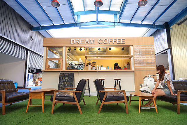 台中沙鹿夢想街再進化│把咖啡廳搬到廣場,甲子園居酒屋也吸晴