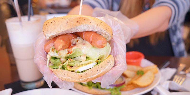 台中東區早午餐│旱溪夜市不只有夜市,還有美味的台中漢堡巴士約訪