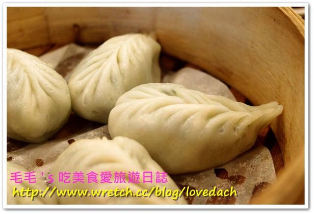 【毛毛專欄】台北大安~點水樓。皮厚Q料細淨素蒸餃,令人驚豔的紅豆鬆糕