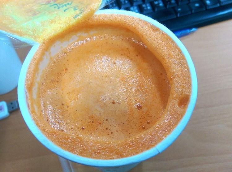 台中飲料店外送│阿鎮天然現榨果汁 新鮮的紅蘿蔔汁