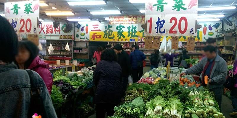 【台中菜市場】西屯路與福雅路交叉口的傳統菜市場