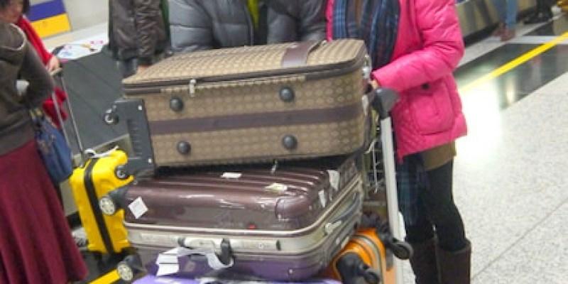 【兔兔專欄】201314香港跨年。窺探兔兔的行李
