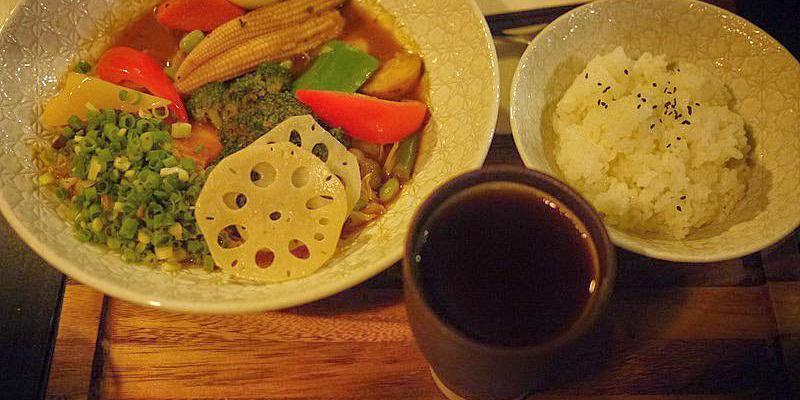 【台中咖哩館】心湯咖哩專門店簡單料理概念