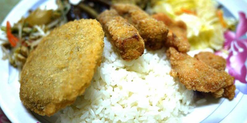 【逢甲新大陸快餐】75元7樣菜的超值每週特餐
