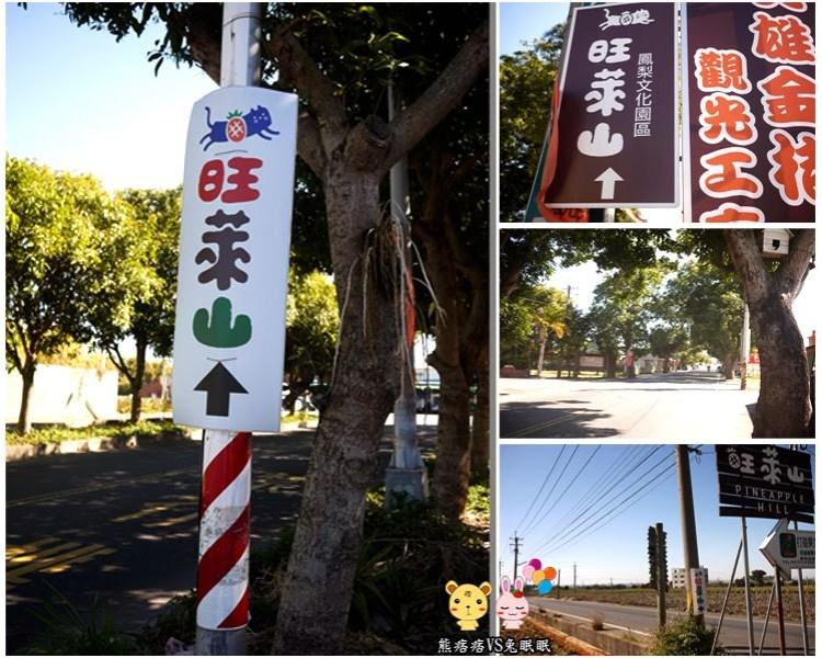 【民雄旺萊山鳳梨文化園】神秘客邀約初體驗