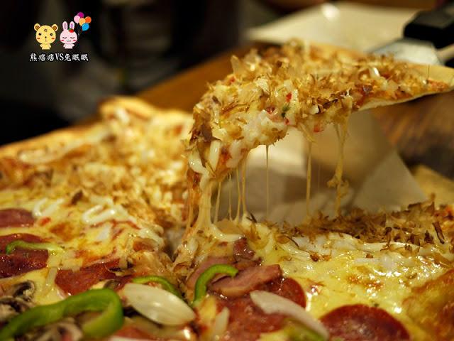 【健行路美食】PISA PIZZA手工窯烤披薩