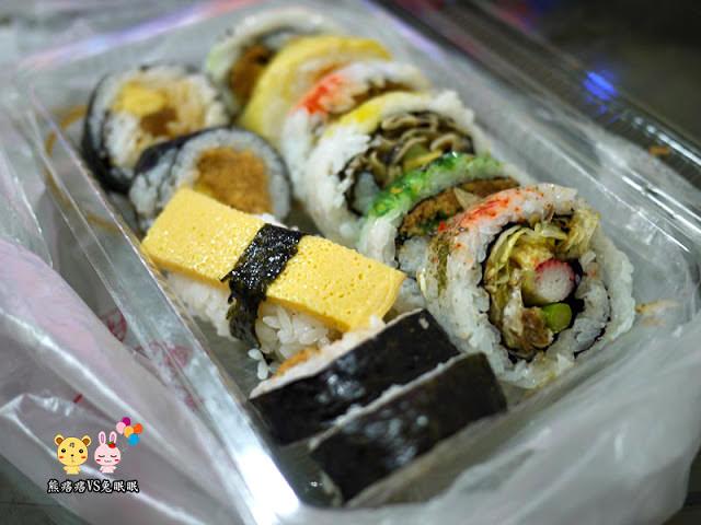 台中阿裕壽司。生魚片壽司專賣店