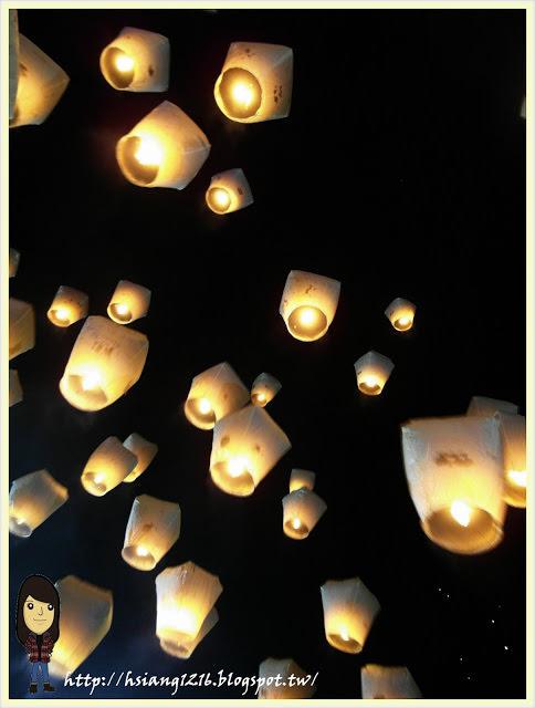 【2013平溪天燈節】這輩子總要放一次天燈。董小湘