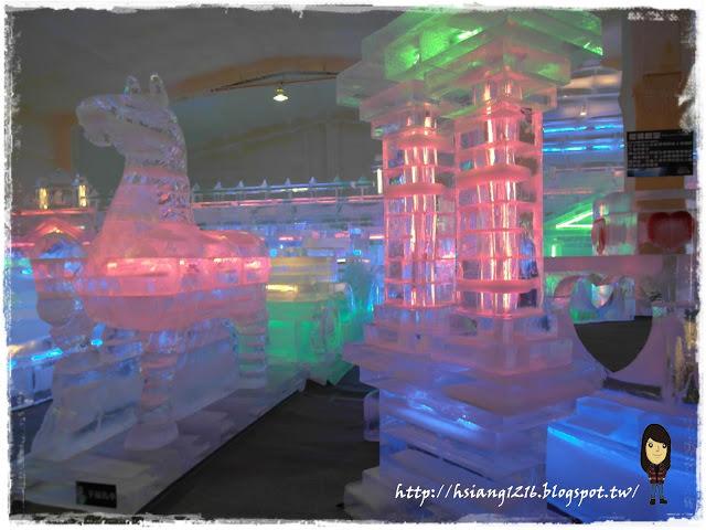 【限時展覽】新竹 2013 哈爾濱冰燈嘉年華。喵湘湘