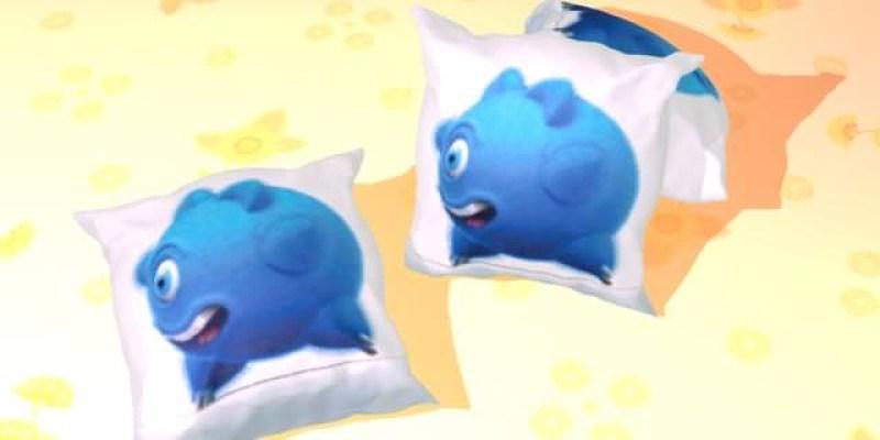 【3D MAX教學】INCG吉祥物-可愛抱枕