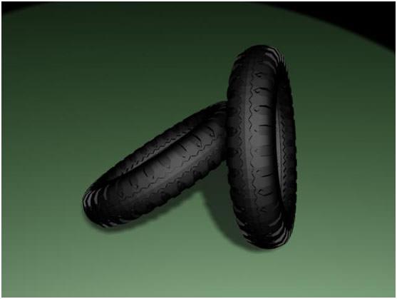 【3D MAX教學】汽車輪胎建模