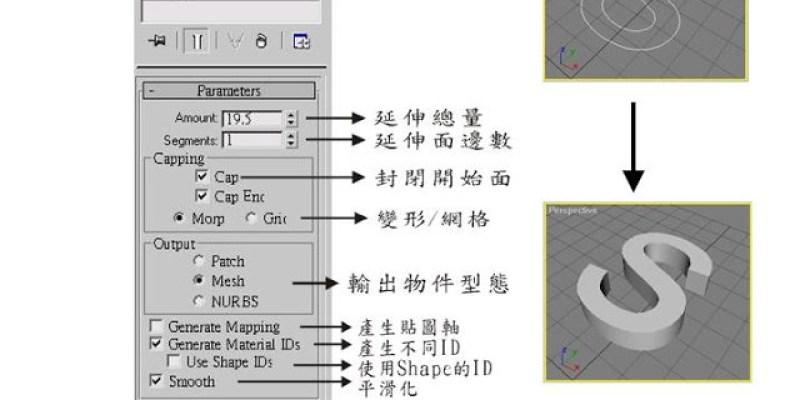 【3D MAX教學&美食】Modify物件編輯與變形