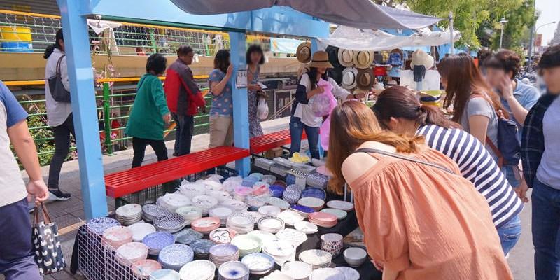國華街淺草市集│台南餐具批發淺草玩盤家,多種造型陶瓷盤超療癒