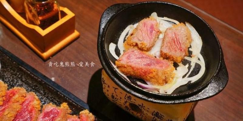 高雄美食 鳳山區/鬼武炙燒牛排-現在日本很夯的~份量多又多的牛かつ(已歇業)