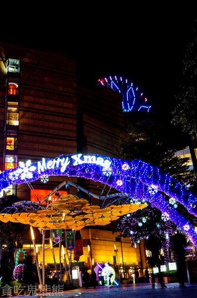 【旅遊】 高雄旅遊/夢時代.統一阪急2015聖誕節造景藝術