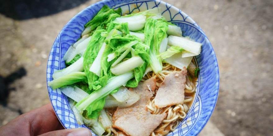 高雄三民美食 台灣味麵店-善良麵攤~一碗麵30元