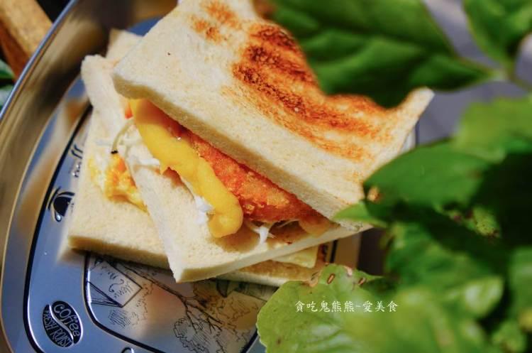 高雄三民早餐 598炭烤三明治-用著甕保持溫度的炭烤三明治,吃過沒?