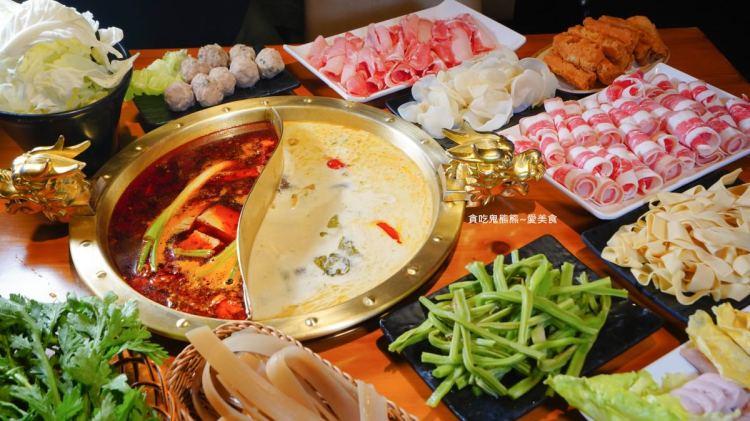 高雄火鍋  巴蜀大將四川老火鍋-四川原料麻辣鍋,讓你人在台灣吃在四川