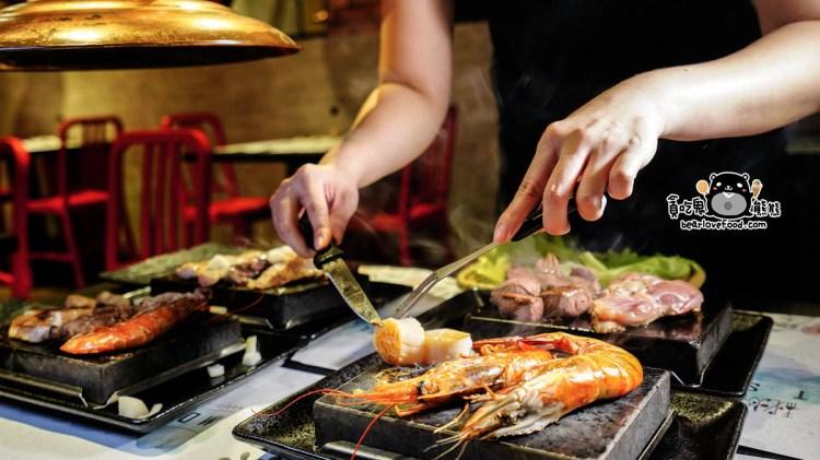 高雄三民區美食 秘燒時尚岩燒牛排-高貴而不貴,品質好吃的日本火山岩燒牛排